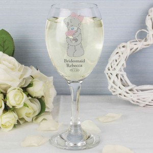 Me To You Wedding Glass