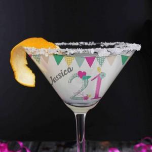 Birthday Craft Cocktail Glass
