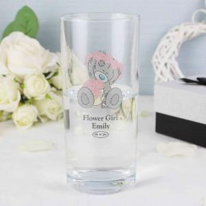 Me To You Wedding Hi Ball Glass
