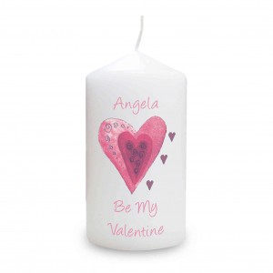 Hearts Candle