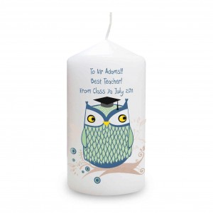 Mr Owl Candle