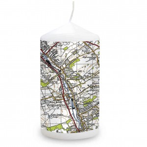 1945 - 1948 New Popular Map Candle
