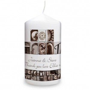 Affection Art Godparents Candle