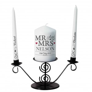 Mr & Mrs Unity Candle
