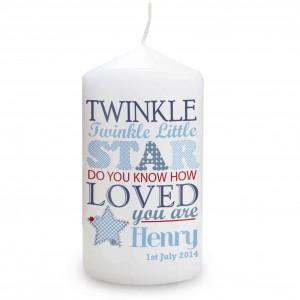 Twinkle Boys Candle