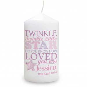 Twinkle Girls Candle