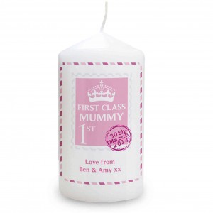 Pink 1st Class Candle