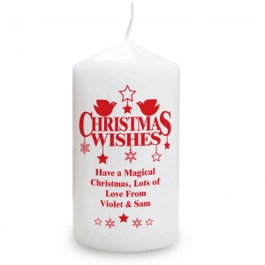 Christmas Wishes Candle