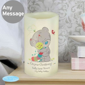 Tiny Tatty Teddy Cuddle Bug LED Candle