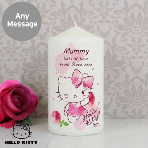 Hello Kitty Pink Blush Candle