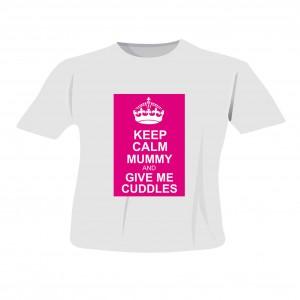 Pink Keep Calm T-Shirt 2-3 Years