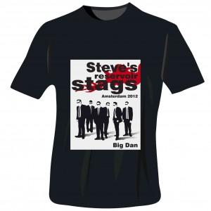 Reservoir Stags T-Shirt - Black - Medium