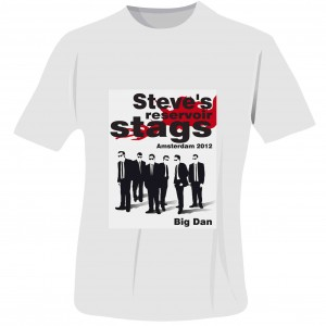 Reservoir Stags T-Shirt - White - Large