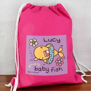 Bang On The Door Baby Fish Girls Swim bag