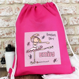 Bang On The Door Ballet Dancer Kit Bag