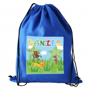 Animal Alphabet Boys Kit Bag