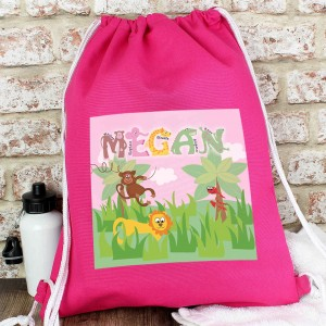 Animal Alphabet Girls Kit Bag
