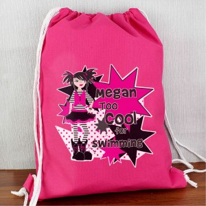 Girls Too Cool Swim bag