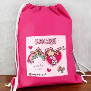 Bang On The Door Groovy Chick Swim Bag
