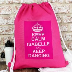 Pink Keep Calm Kit Bag