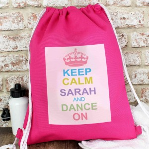 Pastel Keep Calm Kit Bag