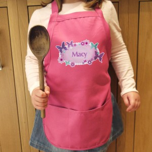 Butterfly Childs Apron