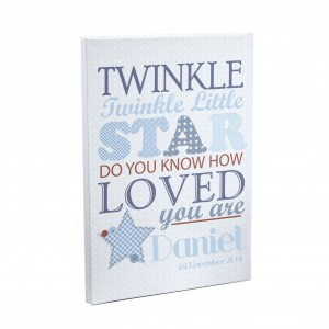 Twinkle Boys Canvas