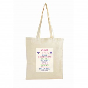 Top Ten Loves Cotton Bag