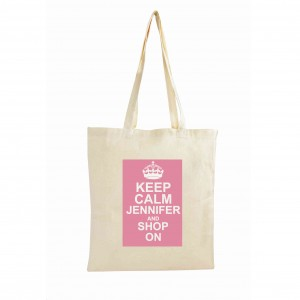 Keep Calm Cotton Bag