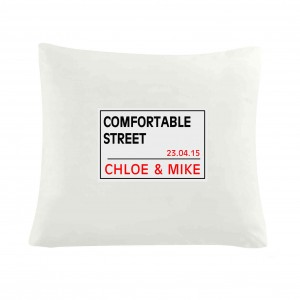 London Street Sign Cushion Cover