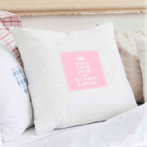 Keep Calm Cushion Cover