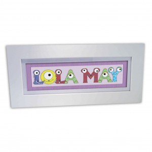 Monster Name Frame For Girls