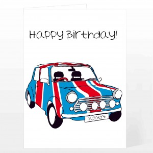 Union Jack Mini Card