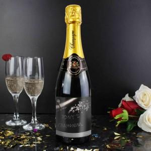 Diamond Champagne Bottle
