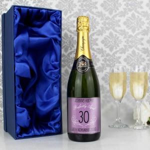 Age Champagne Purple with Gift Box