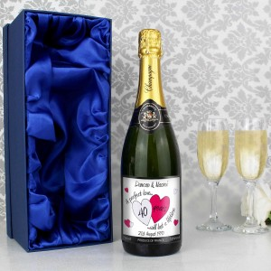A Perfect Love Ruby Champagne with Gift Box