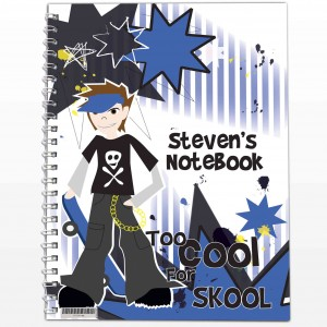Too Cool Boy A5 Notebook