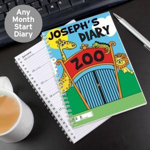 Zoo - A5 Diary
