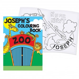 Zoo Colouring Book