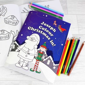 It's Christmas' Elf Colouring Set