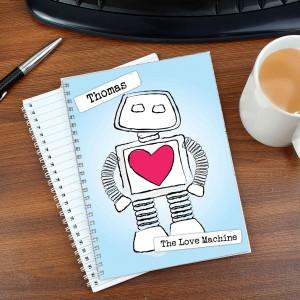 Love Machine A5 Notebook