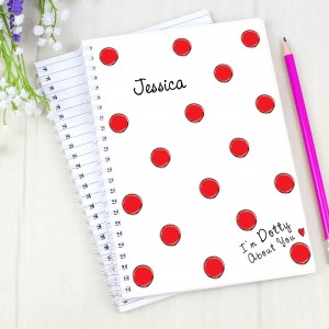 Dotty About You A5 Notebook