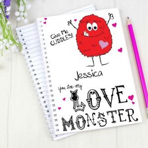 Love Monster A5 Notebook