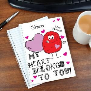 Monster Heart A5 Notebook