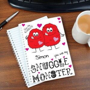 Snuggle Monster A5 Notebook
