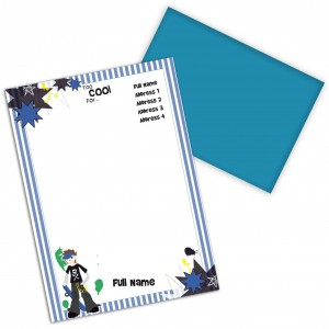 Too Cool Boys Stationery Set