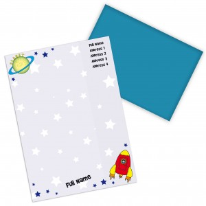 Space Stationery Set