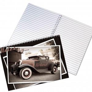 Classic Car A5 Notebook