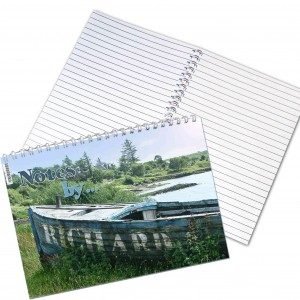 Old Barge A5 Notebook