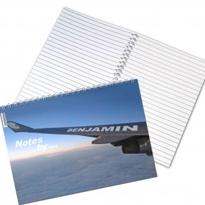 Jet Wing A5 Notebook